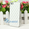 2015 Gift White Bling Luxury Exquisit Crystal Case For Iphone 5G( IP5G-033)