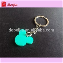 OEM cheap high quality eco-friendly pvc Keychain