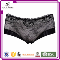 Hot Sale Elegant Hot Lady Nylon/cotton Visible Sexy Hot Panty Underwear