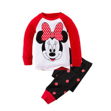cartoon news lovely babys and kids clothes children's clothing long sleeve boys and girls casual suit high quality
