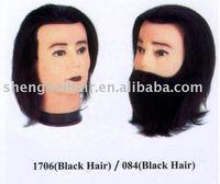 human hair training mannequin head