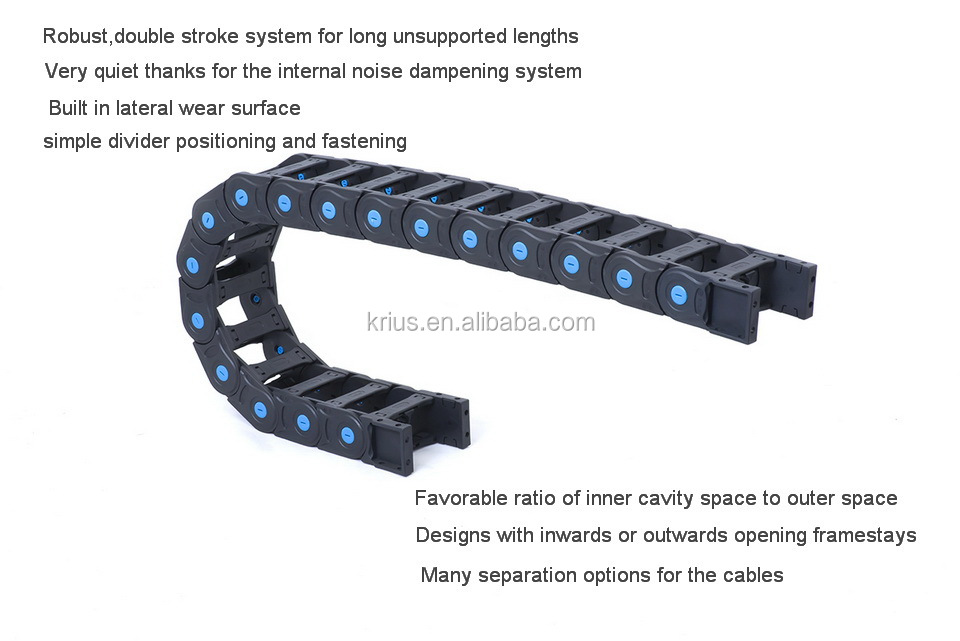 Flex Ethernet Cable Chain : High quality flexible plastic cable energy chain buy