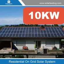 Cost of Home Solar Power System 10KW BIPV turnkey project photovoltaic system Solar Energy Plant