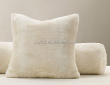 Faux fur pillow/luxury fur sofa pillow /faux fur pillow covers