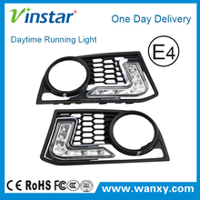 Exact Fit 12w High Power LED Daytime Running Light Assembly For 2010-2013 BMW F10 5-Series M-Sport Bumper