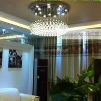 Hot-selling artistic crystal led chandelier colorful crystal chandelier