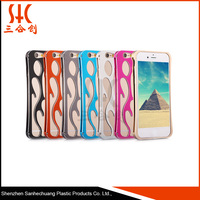 Alibaba recommend hollowed-out metal phone case manufacturing