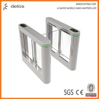 factory price supermarket mechanical swing barrier