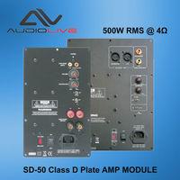 SD-50 500W RMS professional class D plate amplifier