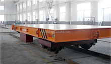 Heavy Duty Steel Industry Using Transport Carriage With Cast Steel Wheel