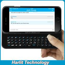 Ultra thin Slim Designed Sliding Bluetooth Backlit Keyboard Case For Apple iPhone 6