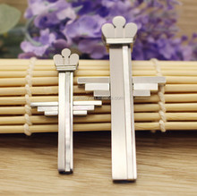 316L Stainless steel ankh charms jewelry,Fashion cross with crown silver ankh pendant