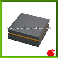 Mat bespke packaging paper box with logo and insert