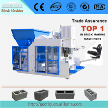 low investment high profit QMY12-15 egg laying brick machine,hollow bricks machine indian price