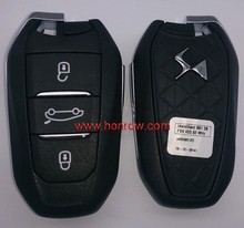 Honrow Promotional price Citroen DS5 smart remote key with 434Mhz DS remote key