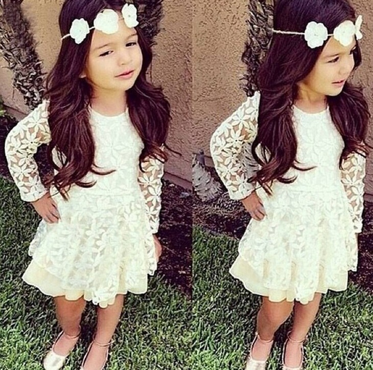 Vestido de ninas ala moda