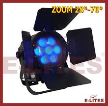 ZOOM function par can light, show&stage design wash zoom LED par light, 7*25W 4in1 par light