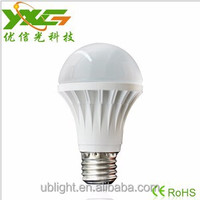 3 Years Warranty High Brightness A60 7W LED Bulb 110V 220V E27 Base Sample free possible