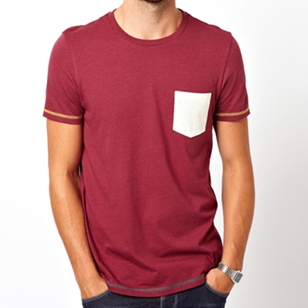 Latest blank designs wholesale blank t shirts pocket t for T shirt design wholesale