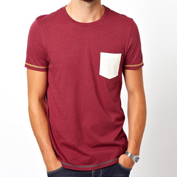 Latest blank designs wholesale blank t shirts pocket t for Bulk pocket t shirts