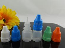 free sample!!! 5ml pe plastic essential oil dropper bottle with tamper seal cap e cigarette dropper bottle e liquid dropper bott