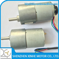 2015 hot selling products 37mm 24v dc geared motor for robot and worm geared motors