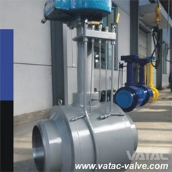 API 6D Gear Operated Full Bore Extended Stem WPB/A105/LF2/F304/F316 Full Weld Ball Valve Wenzhou Supplier
