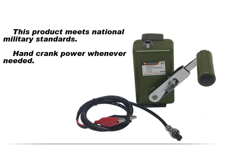 military 30w hand crank electric generator buy military hand crank rh alibaba com Chicago Generator Manual Old Kohler Generator Manuals