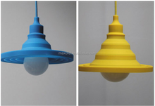 hot sell plastic modern decorative cord pendant hanging suspensding light
