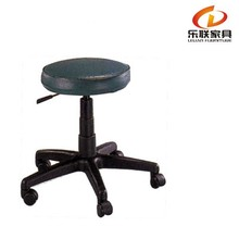 comfortable elastic no back chair of typist use matel siwvel chair