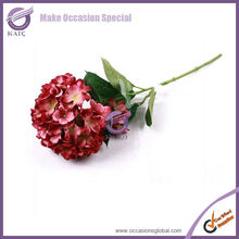 k2031-1 wholesale silk flower hydrangea artificial hydrangea white hydrangea cut flowers