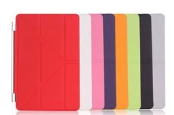 "5 Shapes Magnetic Stand PU Leather case for iPad Mini /Mini Retina 2 7.9"" Smart cover Smartcover for iPad mini 3 Flip Design"