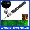 5 In 1 Powerful 532nm Fat Beam Adjust Green Laser Pen Price with Multi-star Patterns
