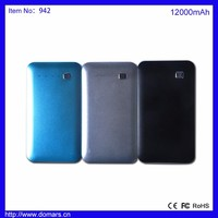 USA Market Hot Sale High Quality Power Bank 12000mAh Mobile Phone Backup Battery