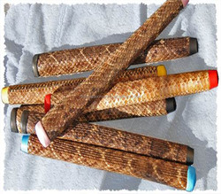 Real leather golf putter grips