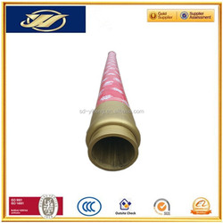 Flexible concrete pump hose rubber coated pipe agricultural hose pipe