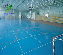 Good quality top sell volleyball court pvc sports flooring