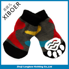 New colorfull dog sock pet shoe pet product for wholesale