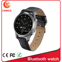 lastest smart watch round with bluetooth 3.0 and mtk 2502 factory