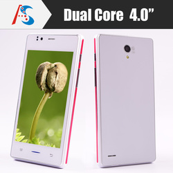 """lowest cost 44usd Dual core 4"""" IPS screen no brand smart phone mobile for wholesale"""