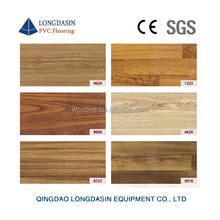 Wood design for indoor Vinyl sheet sports flooring