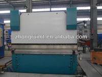 Hydraulic steel bending machine / cnc press brake / Swing beam hydraulic bender machine