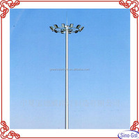 High quality LED High Mast Lighting Price worked in plaza, stadium for sale