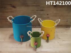metal handmade basket home decoration wholesale
