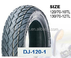 wholesale DJ high quality motorcycle tires 130/70-12