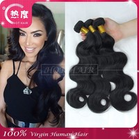 2015 New Product 6A Peruvian Virgin Hair Body Wave Human Hair Extension Alibaba China Wholesale Virgin Peruvian Hair