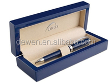 2014 Hot selling---Luxury Gift pen with wooden pen box blue colorDW-GB1299WBX