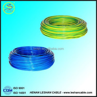 The best quality copper electrical wires PVC insulation with pvc insulation for southafrica market at best price