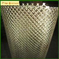 Galvanized Expanded metal, diamond wire mesh raised expanded metal,diamond pattern metal mesh