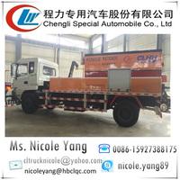 Pavement maintenance car for blacktop, road repair